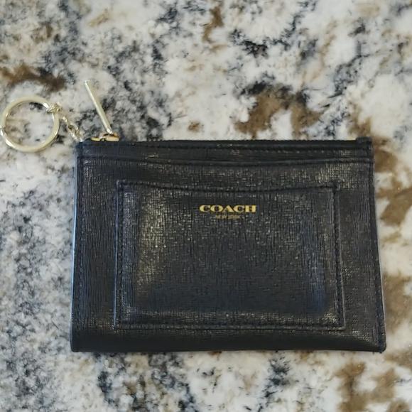 Coach card/coin holder